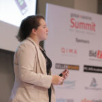Samantha Rosenbaum talks at Global Sources Summit