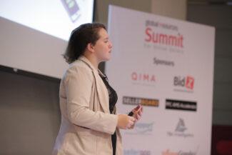 Samantha Rosenbaum talks at Global Sources Summit