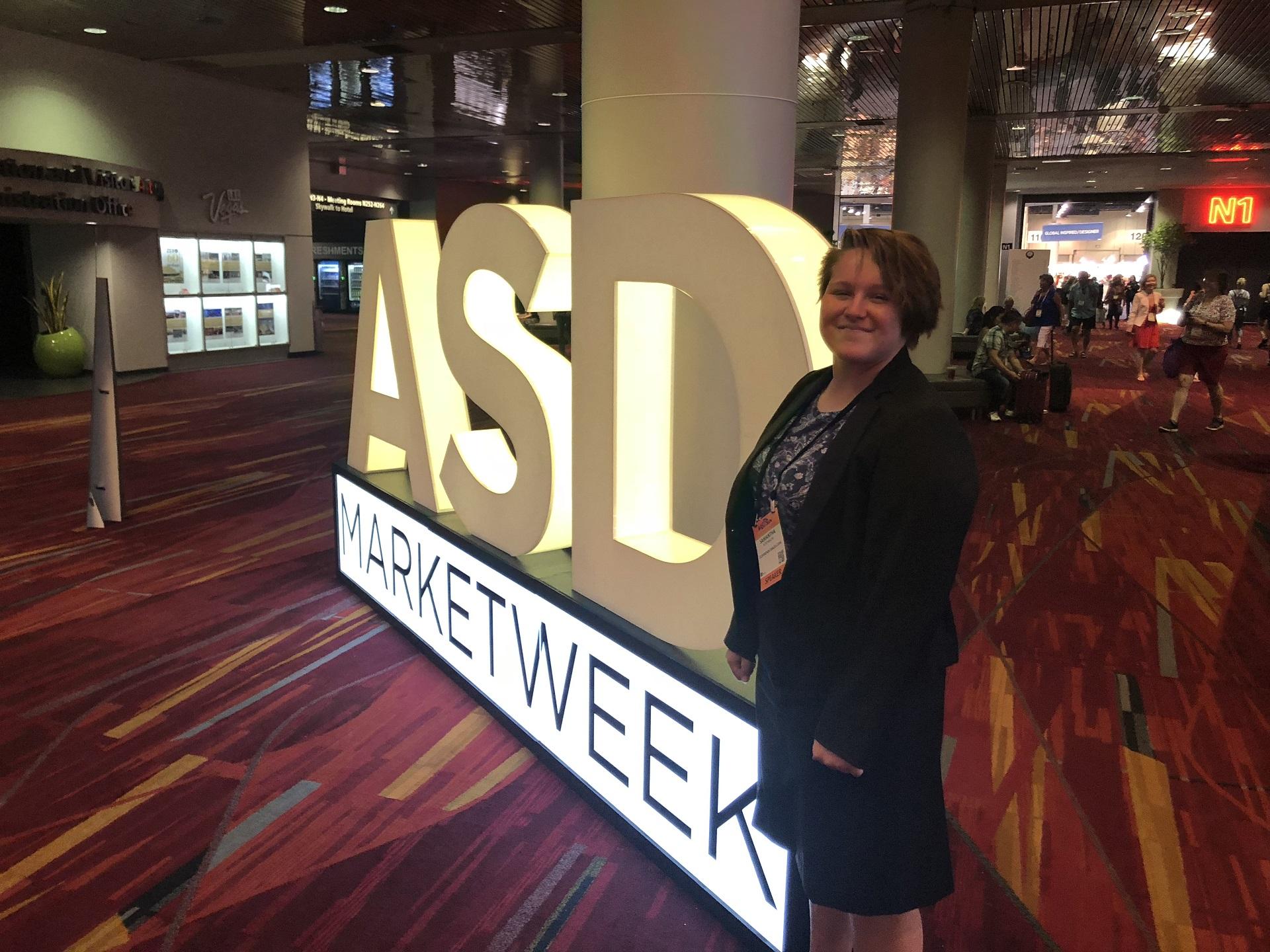 Sam Rosenbaum at ASD Market Week Las Vegas